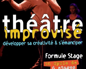 Improvised theatre workshop