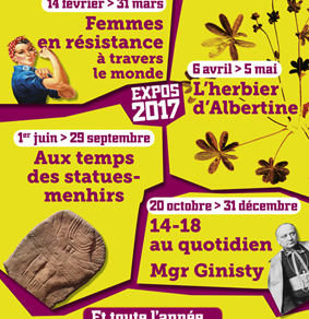 Exposition : 14-18 au quotidien / Mgr Ginisty